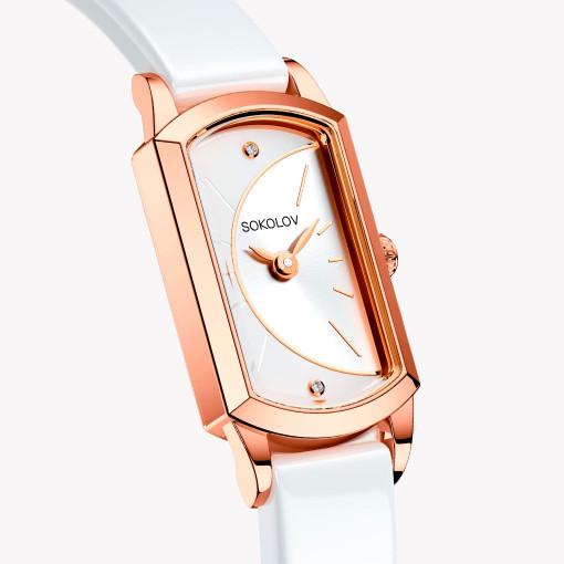 Женские часы из золота