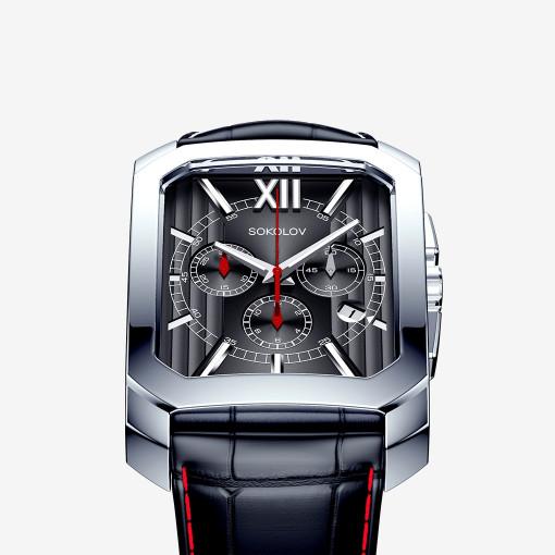 Мужские часы из серебра
