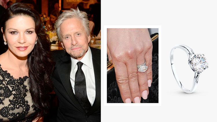 Помолвочное кольцо Кэтрин Зеты-Джонс