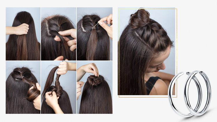 Причёска-мальвинка пошагово