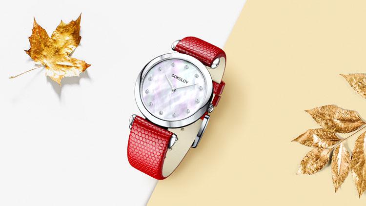 Серебряные часы SOKOLOV