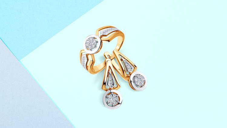Украшения из золота с бриллиантами