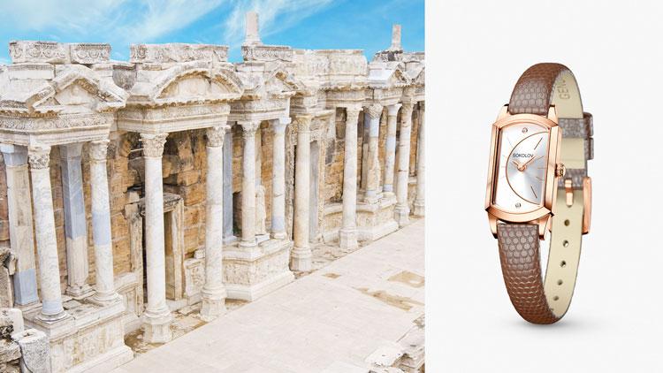 Турция, золотые часы SOKOLOV