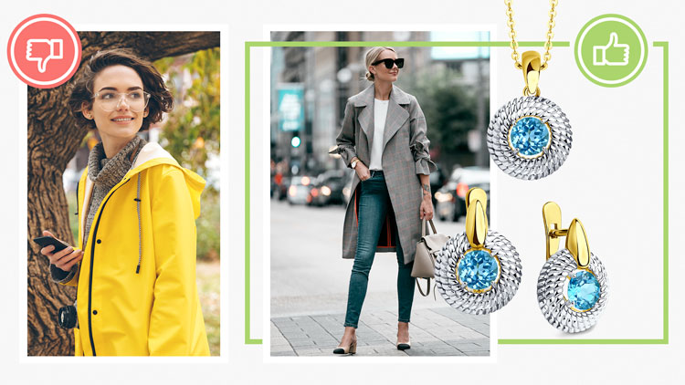 Образы для осени, серебряные украшения